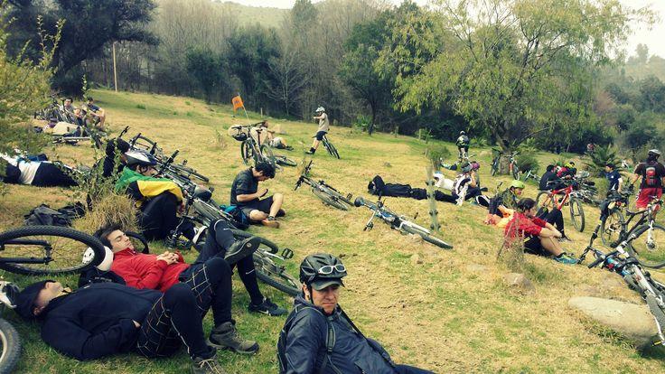 Descansando en el Bosque Santiago #pedaleoalbosque
