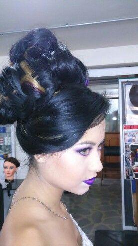 Peinado gala