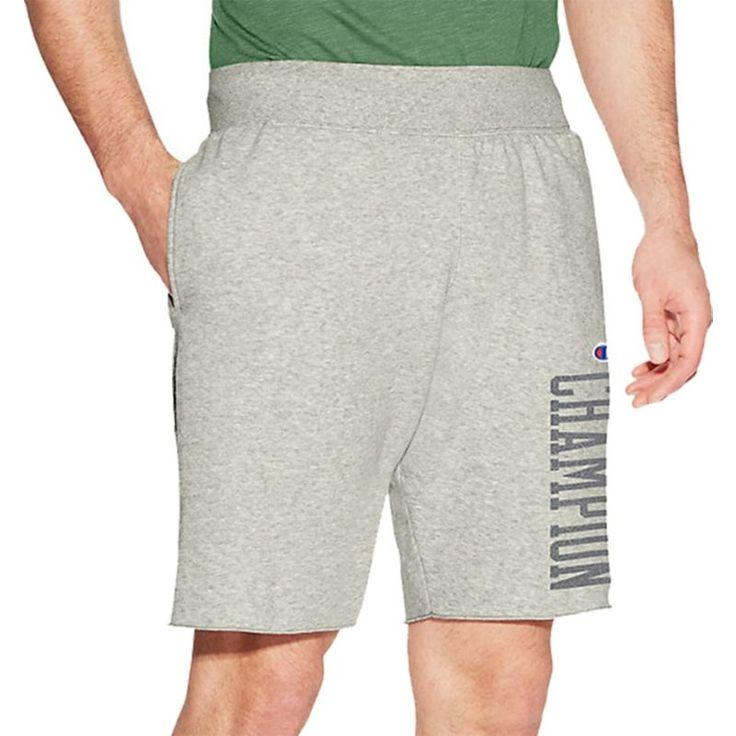 Champion Men's Heritage Fleece Shorts, Gray