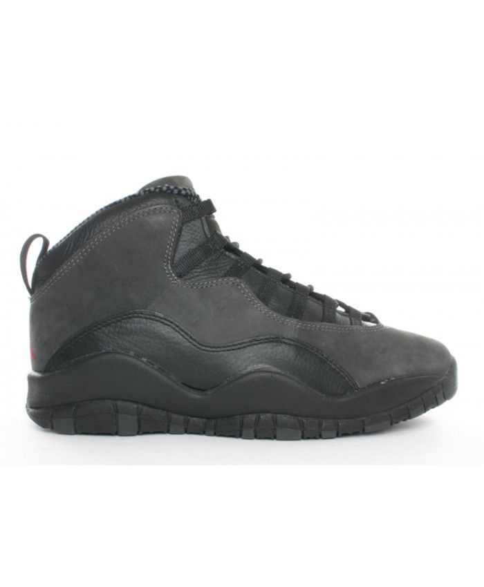 5f7410df150 Air Jordan 10 (Og) Black Dark Shadow True Red 130209 001 | air ...