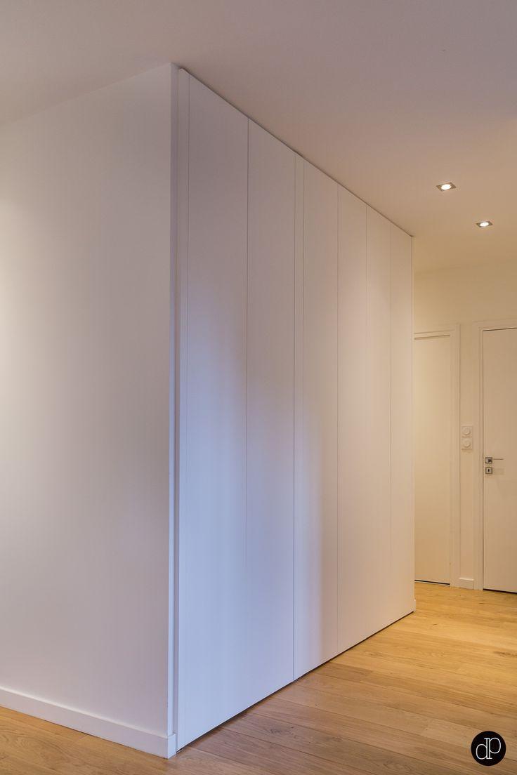 Portes De Placard Tout Hauteur En Syst Me D 39 Ouverture Push Up Maison 110m2 Terrasse 50m2