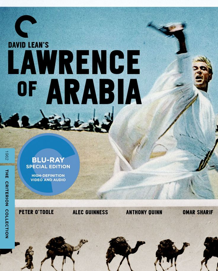 Lawrence Of Arabia David Lean: The Criterion Collection- Lawrence Of Arabia (1962)