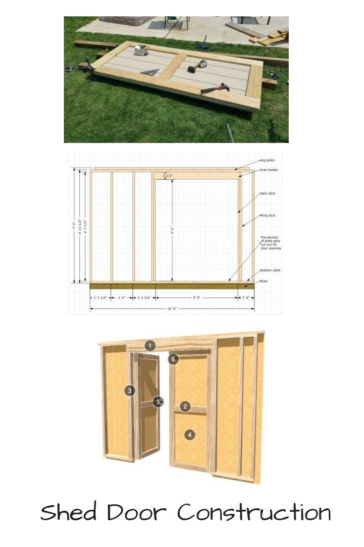 Shed Doors And Easy Ways To Build Them Shed Doors Building A