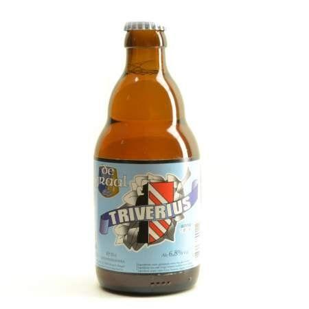De Graal Triverius 33cl. Buy your De Graal beer and matching beer glass in this online shop. This Belgian beer is blond, referments in the bottle and brewed by De Graal brewery. Enjoy this blond ale.