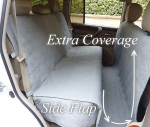 truck back seat cover for dogs | Details about Suv Truck Car Back Seat Cover For Dogs and Cats. Quilted ...