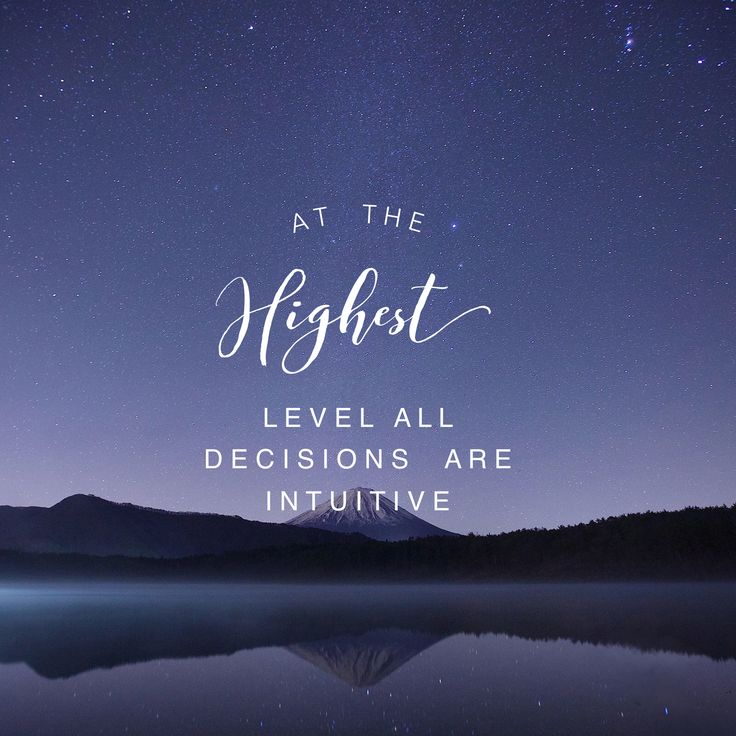 thot: do you listen to your heart as often as you ought?  the best #decisions are #intuitive