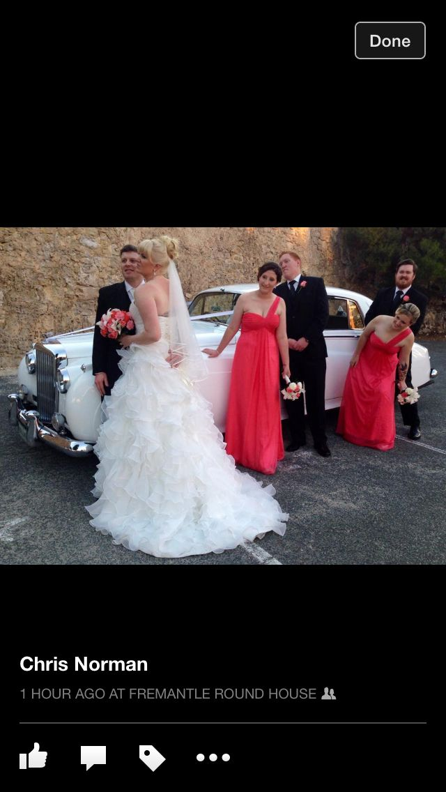 Bentley classic vintage  Fully restored wedding car in Fremantle Perth By Bellagio Limousines