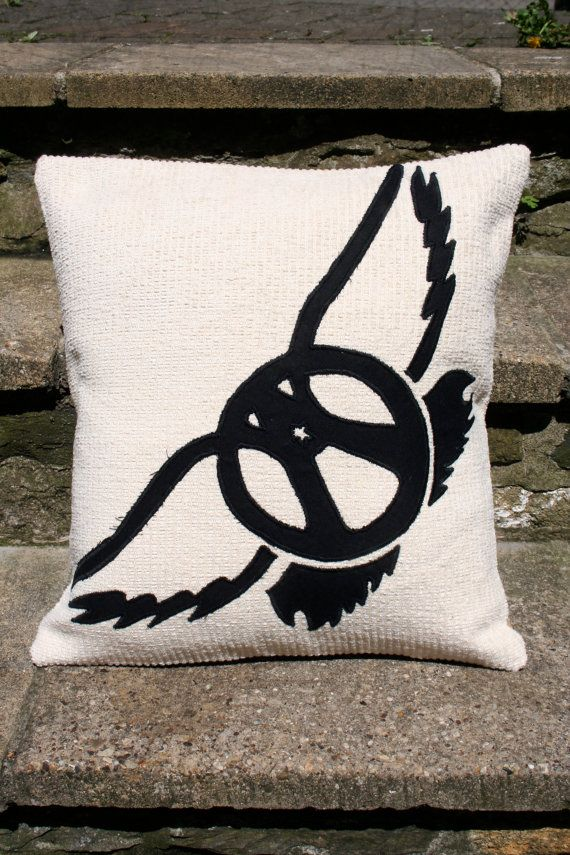 Aerosmith Logo Cushion Pillow Band Music Steven by ByeBrytshi, £22.00