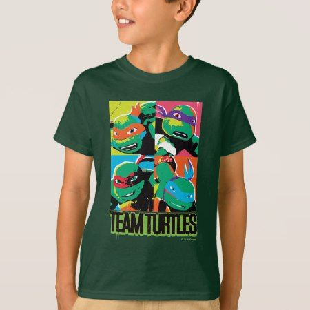 TMNT   Team Turtles T-Shirt - tap to personalize and get yours