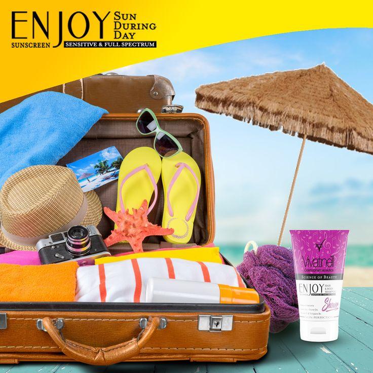 Tatilde yanınıza almanız gereken güneş kremi ve vücut şampuanı?