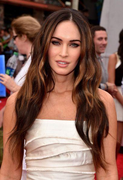 Megan Fox Long Side Part - Megan Fox Looks - StyleBistro