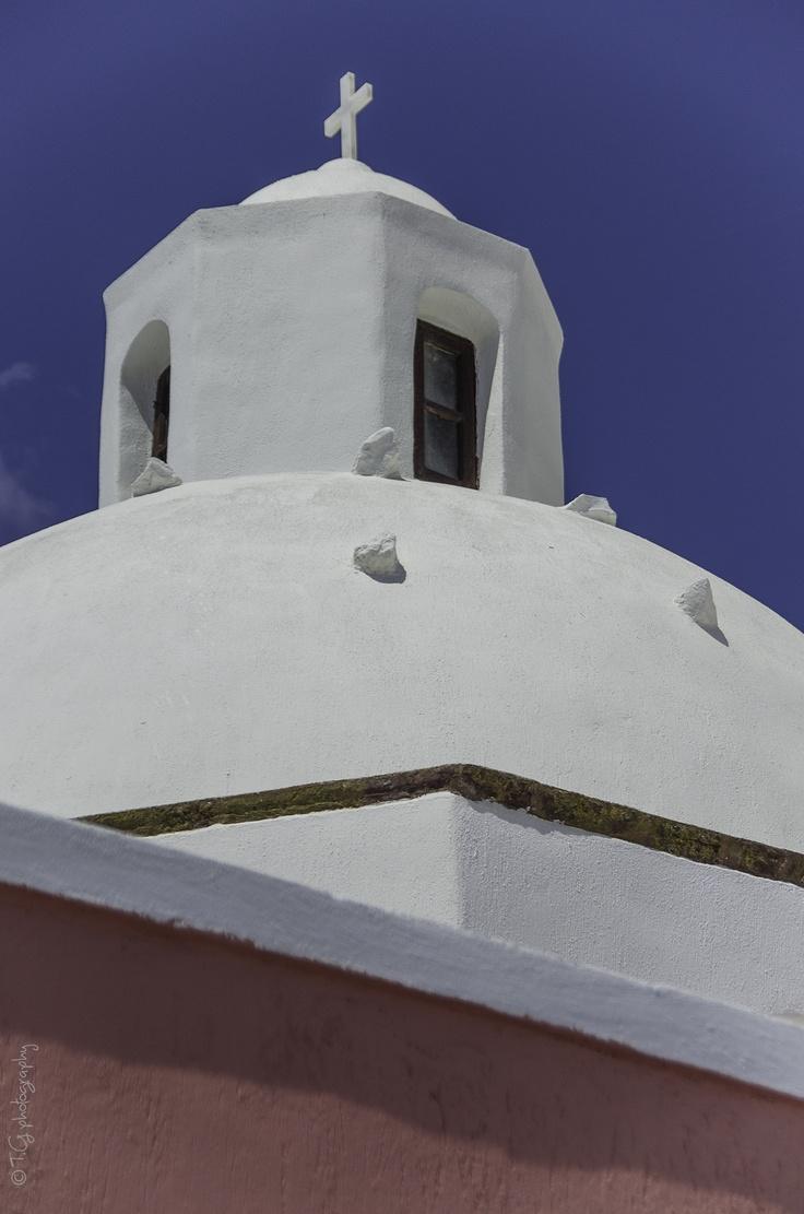 a church in Fira