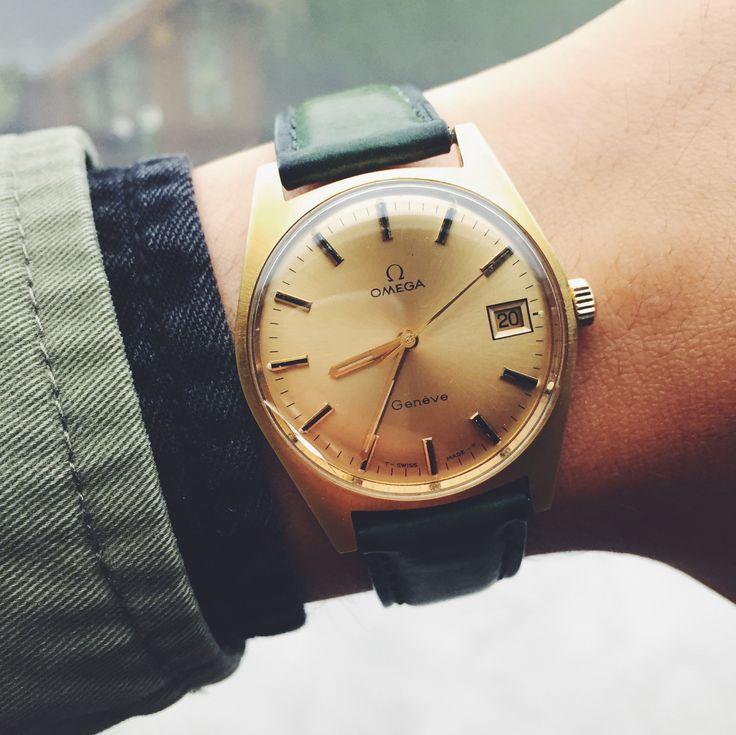 Omega Genève vintage #mode #montres #homme #omega #mensfashion #fashion #fashionformen #watches #watchesformen #omega #geneve #vintage