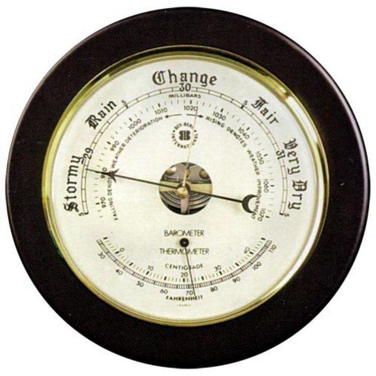 Keota Barometer and Thermometer - WS075
