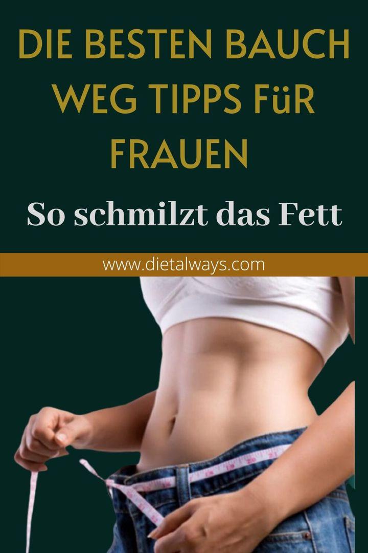 Gewichtsverlust Routinen Frauen kämpft