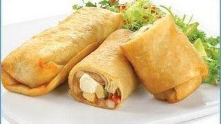 recetas de burritos mexicanos - YouTube