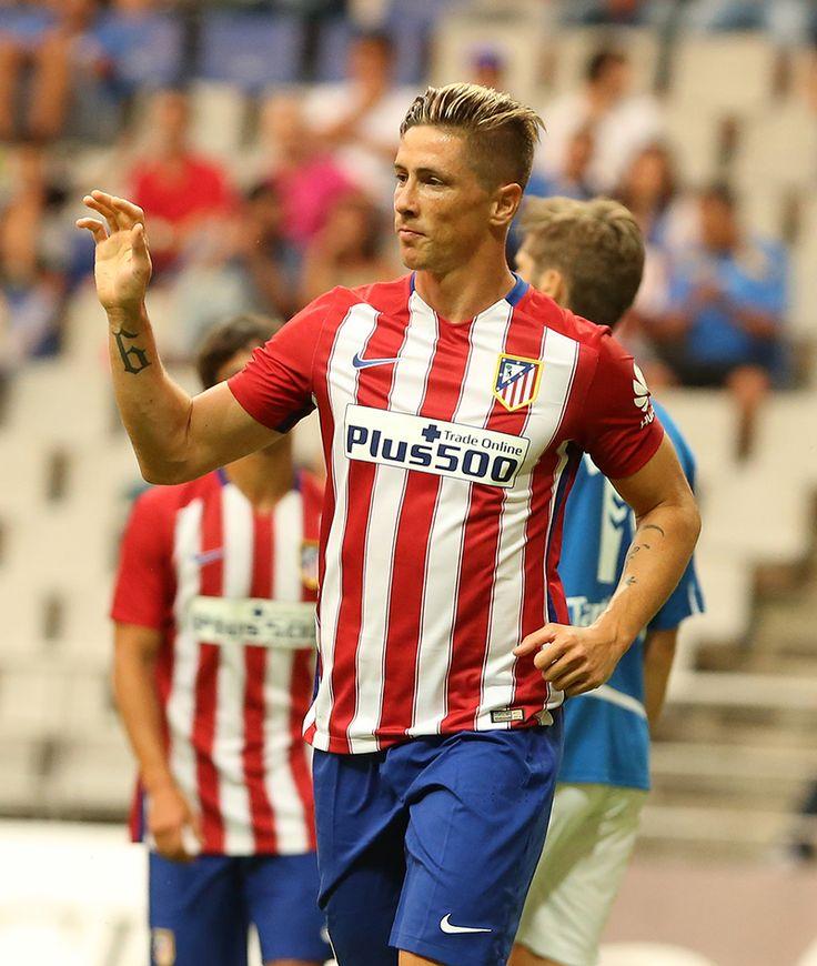 """""""Torres se estrena en la trabajada victoria rojiblanca ante el Oviedo (0-2)"""" (Foto: J.A. Sirvent. Match Date: 28 July 2015)"""