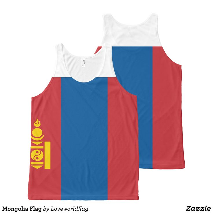 Mongolia Flag All-Over-Print Tank Top - Comfy Moisture-Wicking Sport Tank Tops By Talented Fashion & Graphic Designers - #tanktops #gym #exercise #workout #mensfashion #apparel #shopping #bargain #sale #outfit #stylish #cool #graphicdesign #trendy #fashion #design #fashiondesign #designer #fashiondesigner #style
