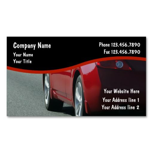 289 best images about auto repair business cards on