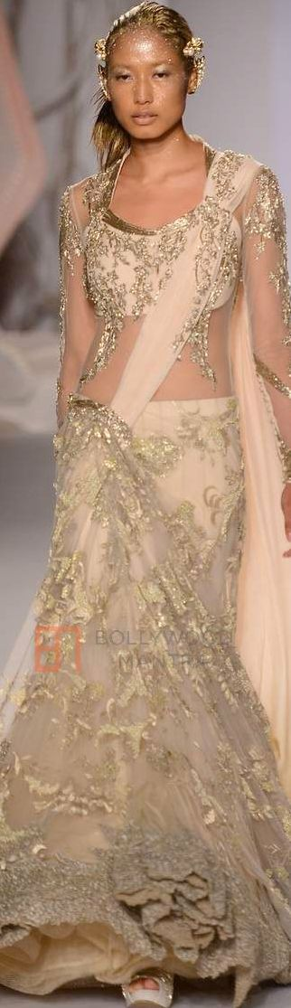 Gaurav Gupta For Amazon INDIA Couture Week 2015 ♕♚εїз   BLAIR SPARKLES  