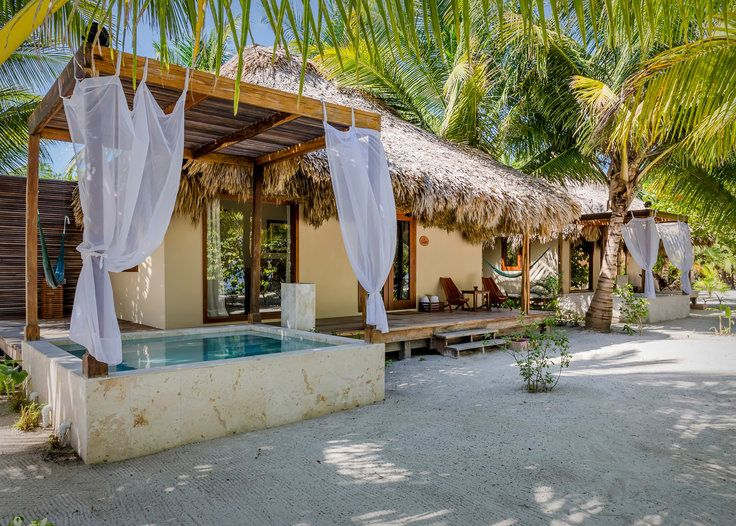 The Best Hotels in Belize - Jungle cottages, romantic beachfront villas, tree houses in the rainforest canopy—there's no shortage of standout hotels in this laid-back Central American country. Here are 7 of the best hotels in Belize.