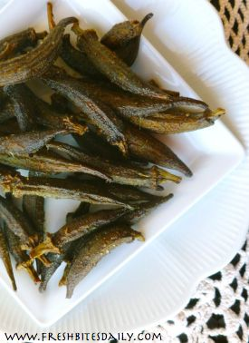 Dehydrating Okra (with an Okra Snack Recipe) | Fresh Bites Daily