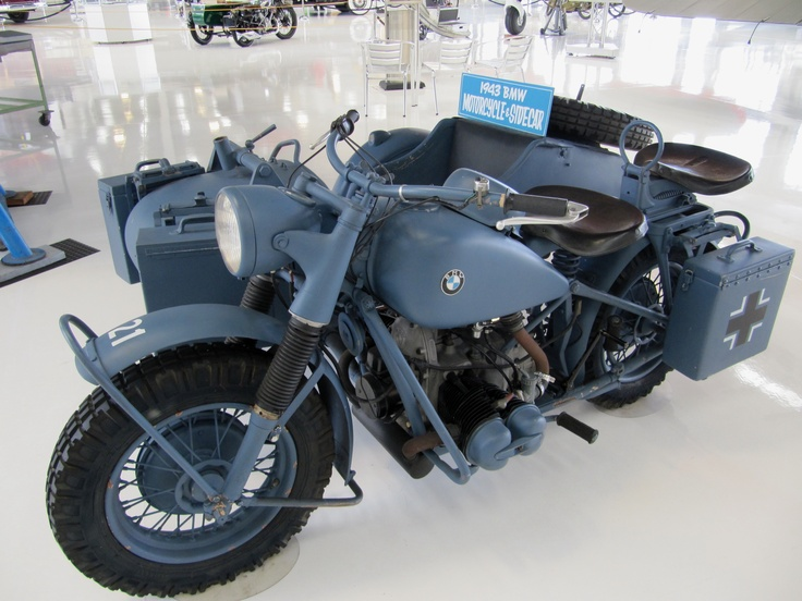bmw motorcycle/sidecar 1943 | cars and bikes | pinterest | bmw
