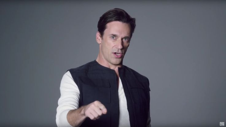 SNL shows what happened when Jon Hamm and Emma Stone auditioned for The Force Awakens