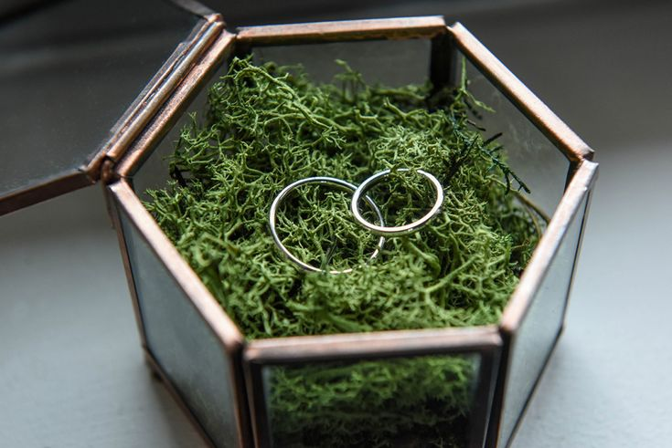 Wedding silver rings. For a boho / vintage / bucolic wedding. Photo by Anais Chaine at the Domaine de Boissy.