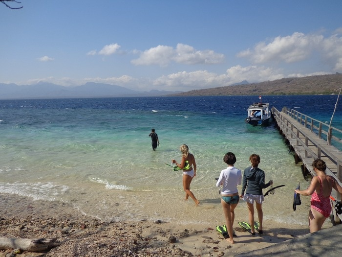In the marine protected areas there is some incredible snorkeling and scuba diving off the peninsula and around Menjanga...