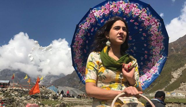 Saif Ali Khans daughter shoots for debut film; photos released