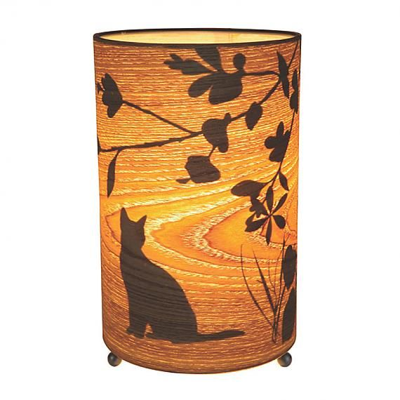 Kitten Cylinder Lamp (Small) by Micky and Stevie, AUD $69.95 online from indie art & design