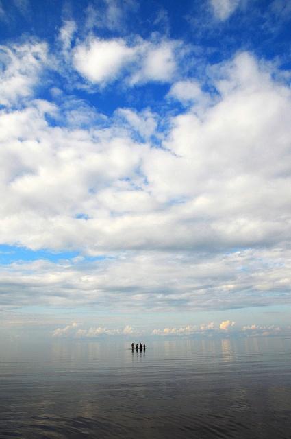 Northport Beach, Nova Scotia. Clouds and sky and infinity. photo:Shelagh Duffett  umm..where is Northport Beach?