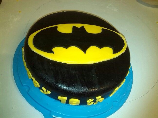 18th birthday batman cake