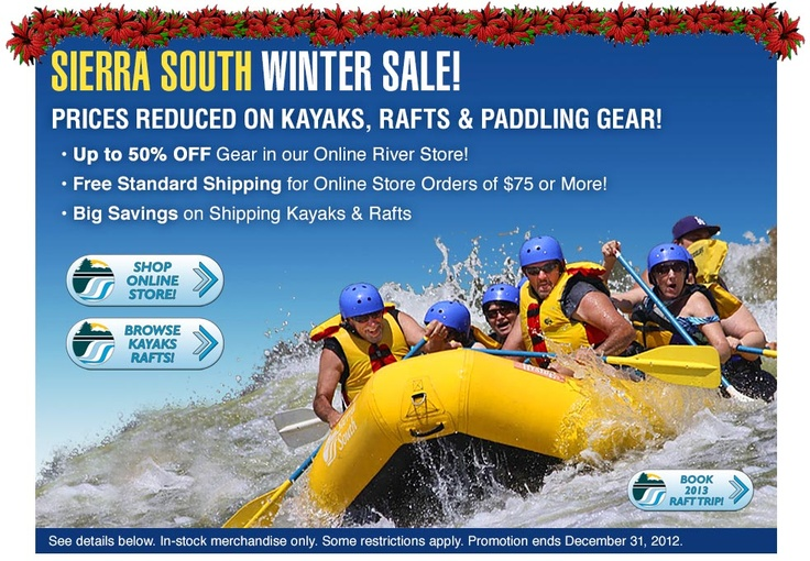 Sierra South's BIGGEST Clearance Sale Ever!! #whitewater #kayaking