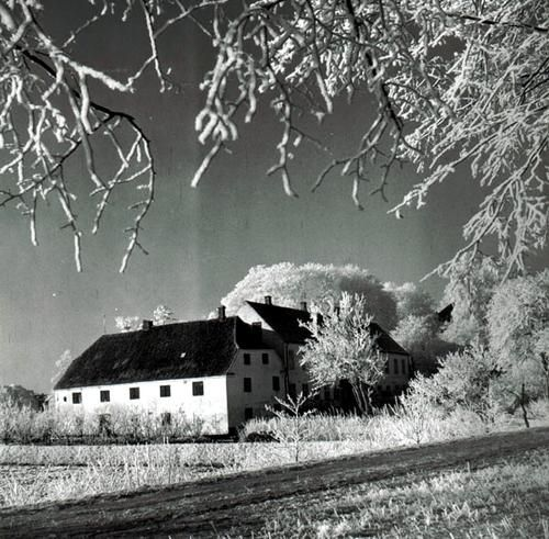 Brænderigården i julen 1947.