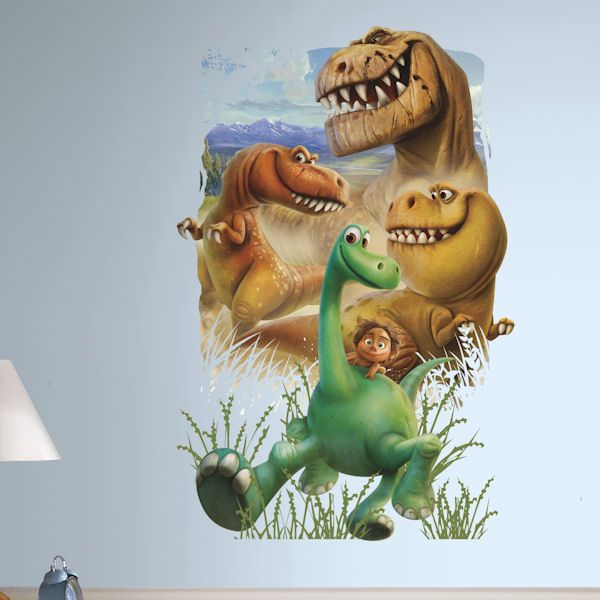 The Good Dinosaur Gang Peel And Stick Wall Decals   Wall Sticker Outlet
