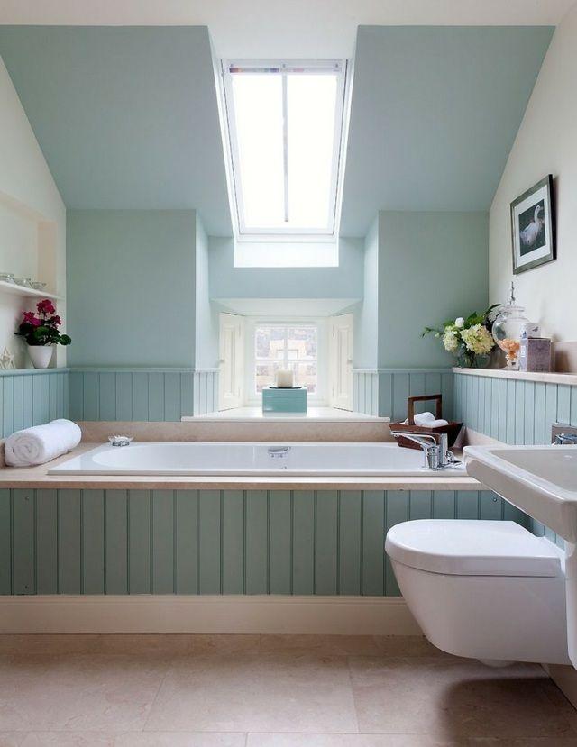 17 meilleures id es propos de salles de bains bleu clair for Carrelage salle de bain bleu