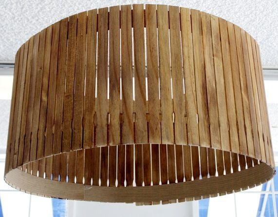 Stir Stick Lamp Shade