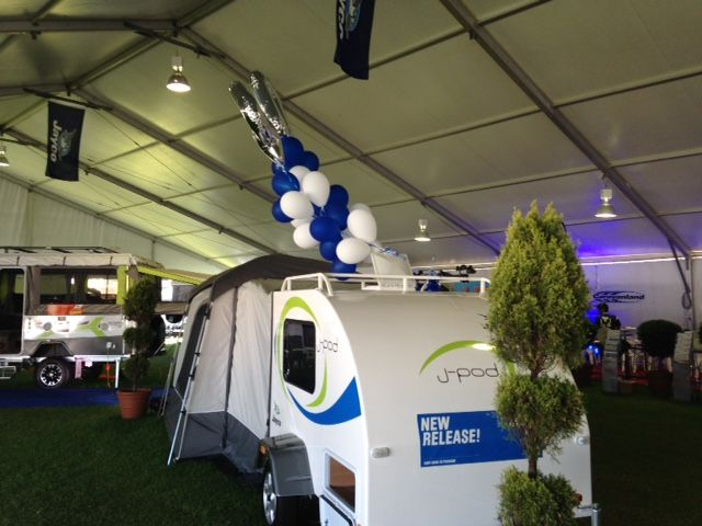 Perth Caravan and camping show! #Jaycoaustralia NEW Release J-POD