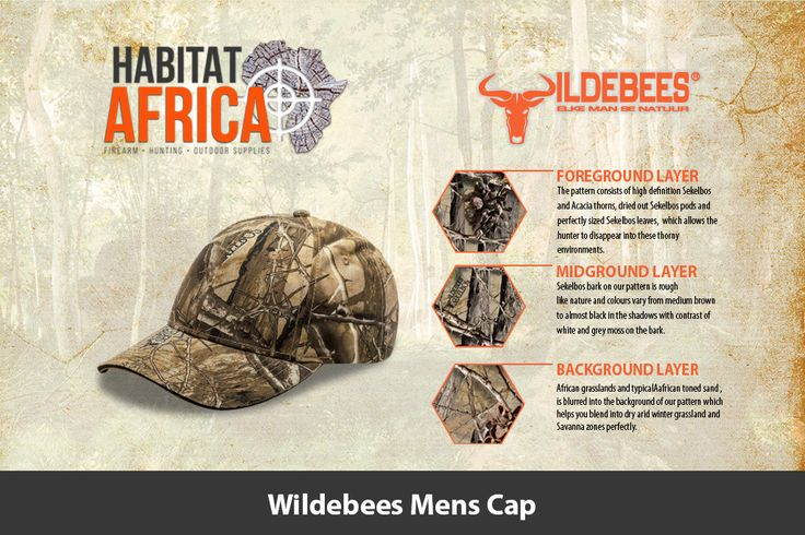 The Wildebees Mens Cap is made from 100% Cotton Canvas using the latest Sekelbos…