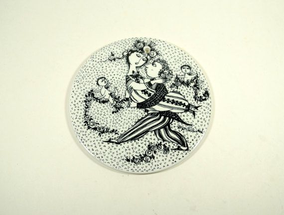Plate Wall Decor Decorative plates Danish by DKVINTAGEGALLERY