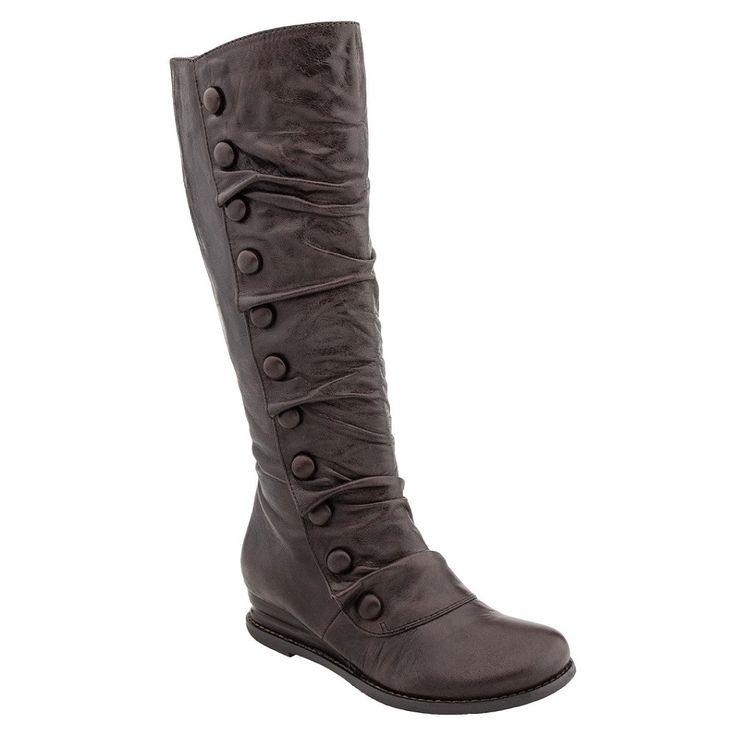 Miz Mooz MIZ MOOZ Women's BLOOM Vintage Knee-High Boot Shoes   Simons Shoes