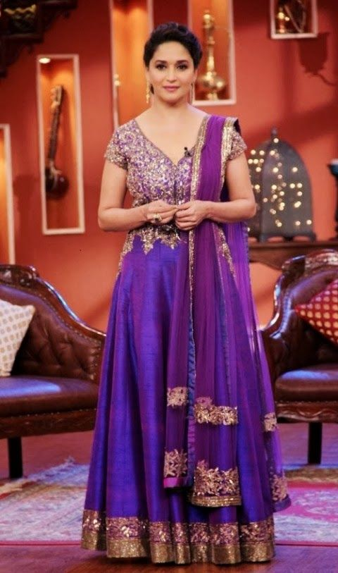 Purple Indian Wedding Dresses Is A Very Powerful Color Which Stands For Luxury Mysticism And