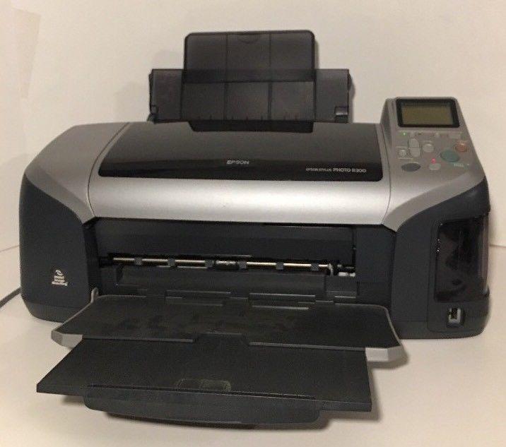 Epson Printer Photo R300 Multi Function Photo Printer Ebay Photo Printer Epson Printer Digital Photo Printer