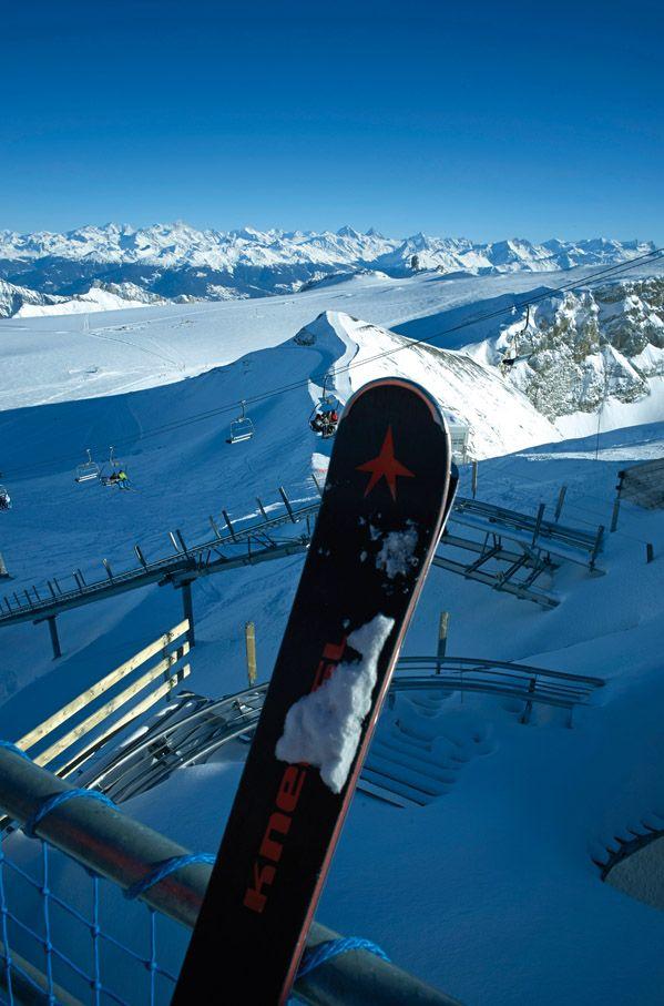 Sports d'hiver: la guerre des stations. © Sedrik Nemeth