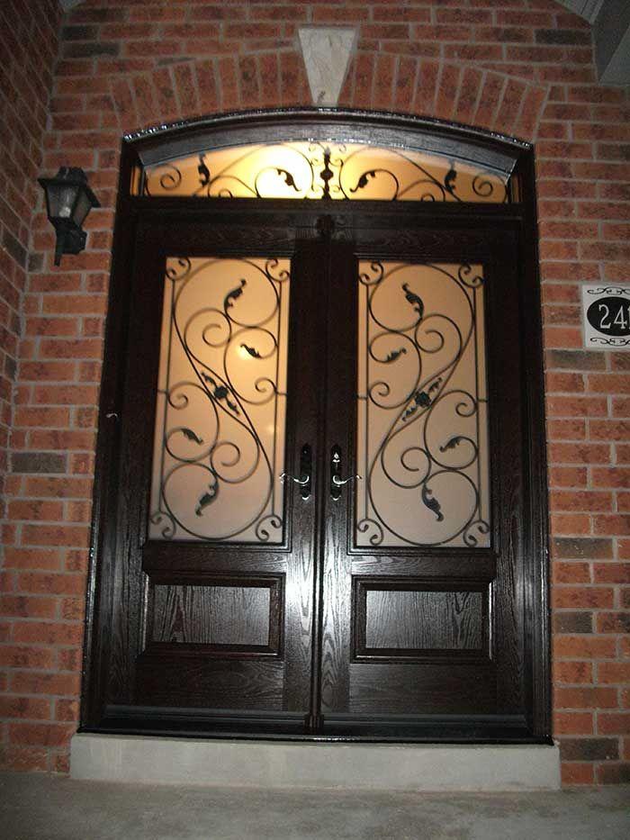 Unique 8 Foot Double Entry Doors