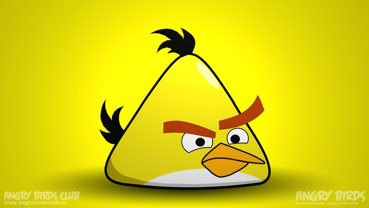 yellow | yellow bird - Angry Birds Picture