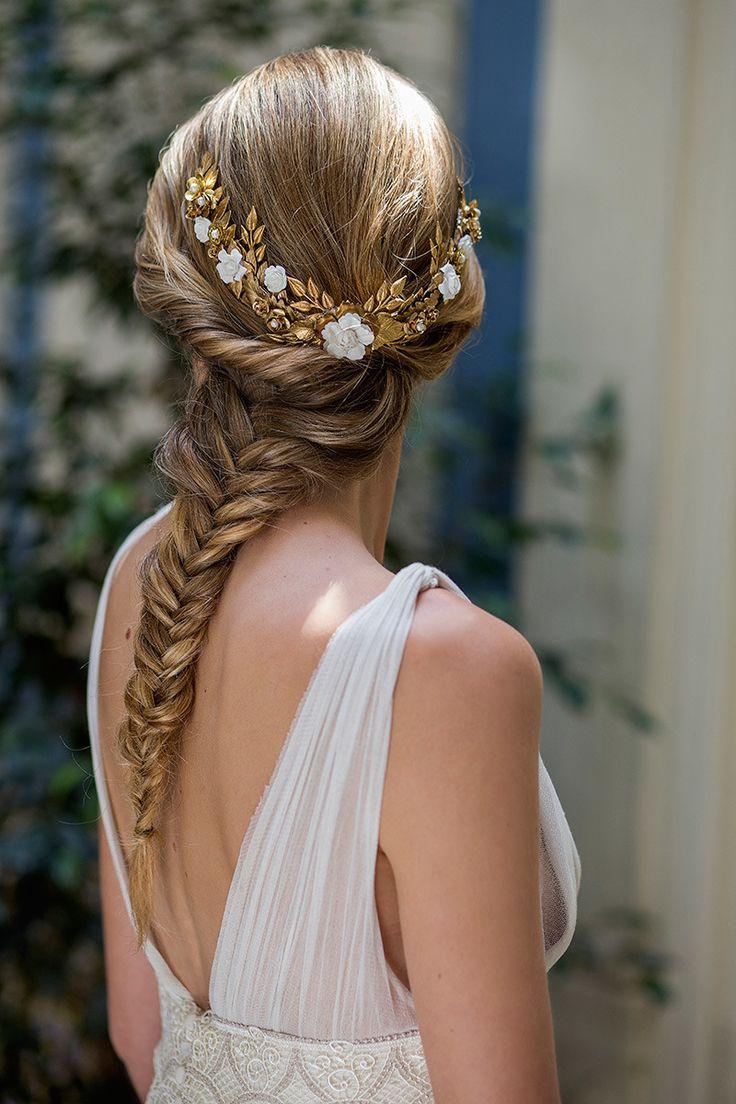 M s de 25 ideas incre bles sobre peinados griegos en pinterest for Trenza boda