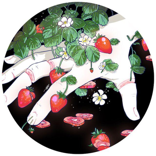 Garden in the Dark Series by Aster Hung | The Dancing Rest https://thedancingrest.com/2016/10/05/garden-in-the-dark-series-by-aster-hung/
